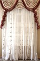 Picture of Debutante - Classic Overlapping Swag Valance Curtains