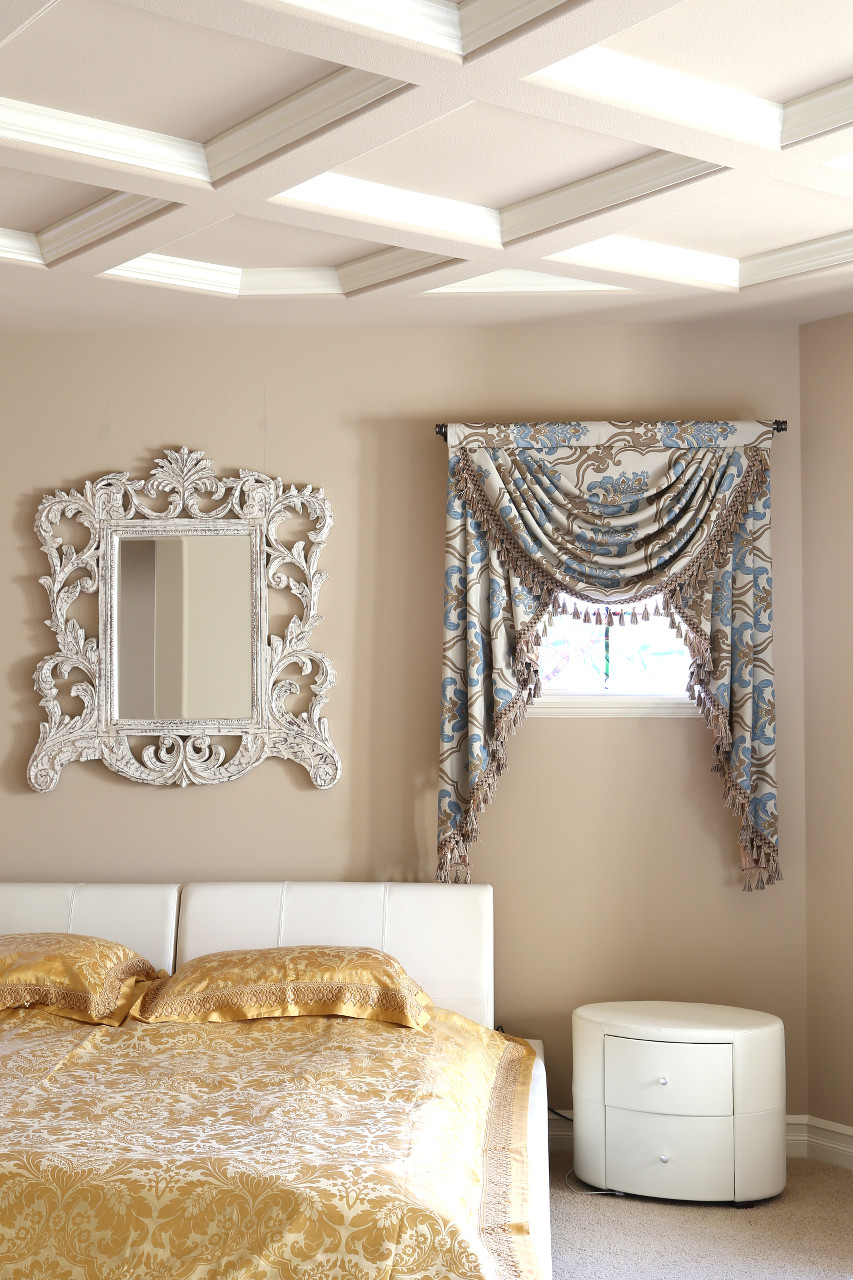Classic Overlapping Swag Valances Curtain Drapes