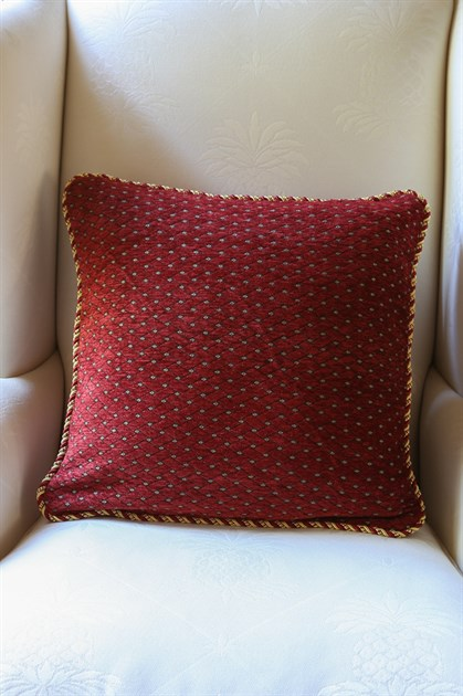Picture of Red Salon Pillow Case