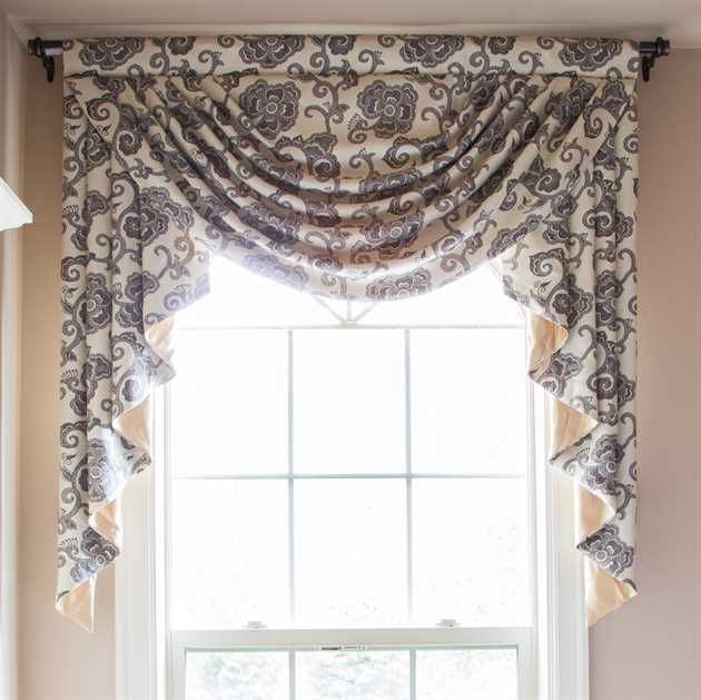 Picture of Peacock Grey Valance