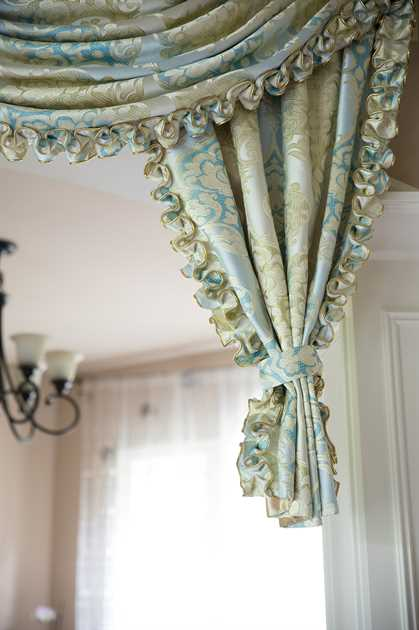 """Picture of Lemon Drop Swag Valance 100""""W"""
