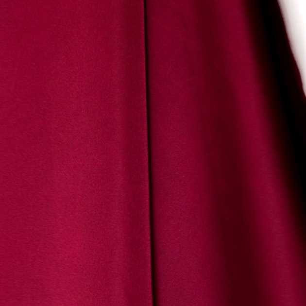 Picture of Solid Faux Silk - Burgundy