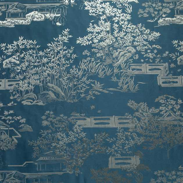 Picture of Bamboo Garden - Aegean Blue