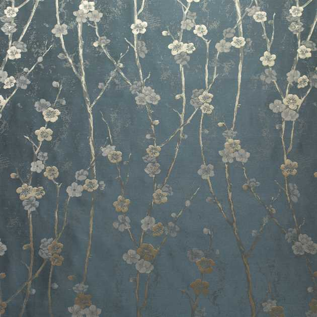 Picture of Plum Blossom - Steel Blue