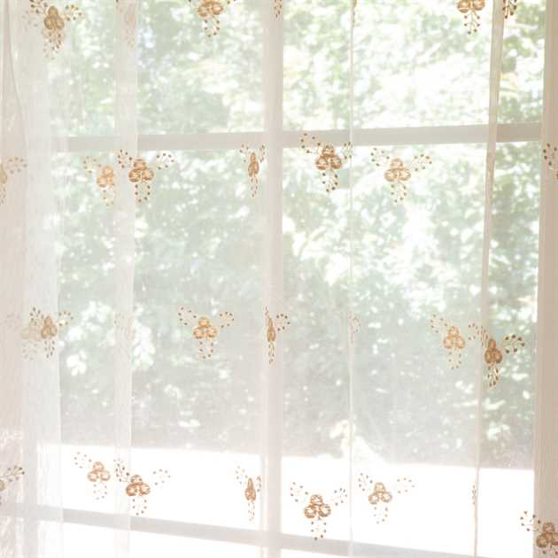 Picture of Bird Nest Sheer Curtains
