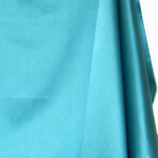 Picture of Solid Faux Silk - Tiffany Blue