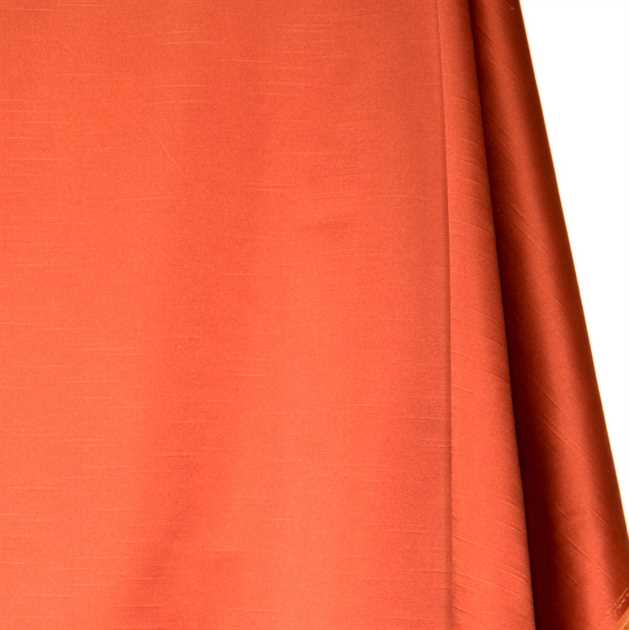 Picture of Solid Faux Silk - Orange