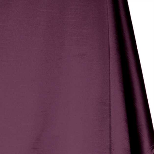 Picture of Solid Faux Silk - Plum Purple