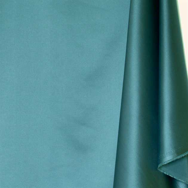 Picture of Solid Faux Silk - Teal