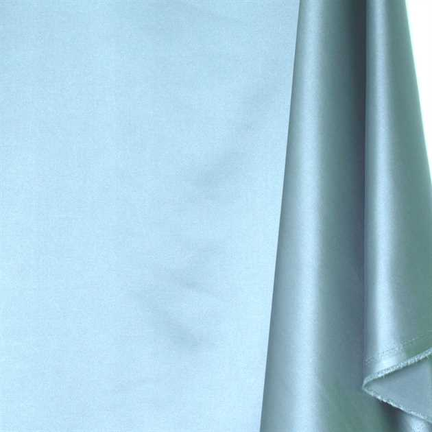 Picture of Solid Faux Silk - Glacial Blue